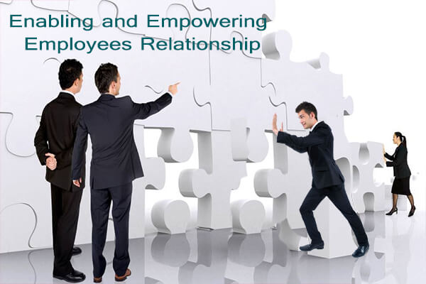 trust relationship between employer and employee Relations between existing staff and job applicants (internal and external)    trust, staff should work with their managers to ensure personal.